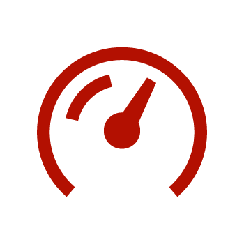 Red Gauge/Meter Icon